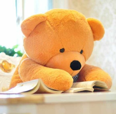 360by24 Yellow_Friends_Teddy 5feet   152 cm Yellow 360by24 Soft Toys