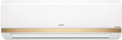 Hitachi 2 Ton 3 Star Split Inverter AC - White, Gold(RMNG322HCEA, Copper Condenser)