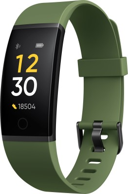 Realme Band(Green Strap, Size : Regular)