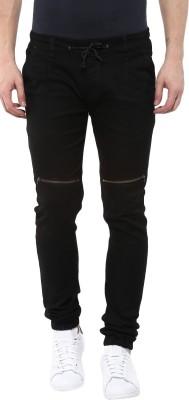 Urbano Fashion Jogger Fit Men Black Jeans