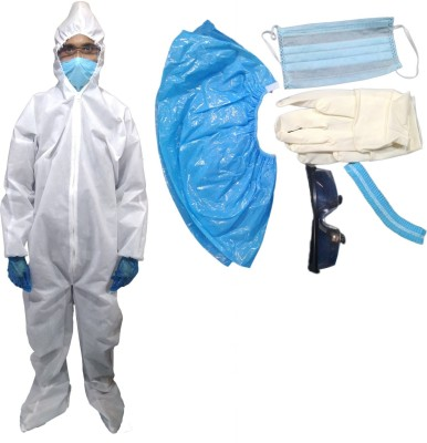 ROSHI PPE KIT with full body cover 70 GSM Safety...