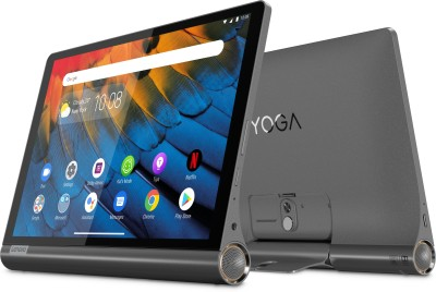 Lenovo Yoga Smart Tab with Google Assistant 4 GB RAM 64 GB ROM 10.1 inch with Wi-Fi+4G Tablet (Iron Grey)