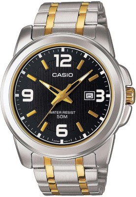 CASIO A777 Enticer Men's ( MTP-1314SG-1AVDF ) Analog Watch  - For Men