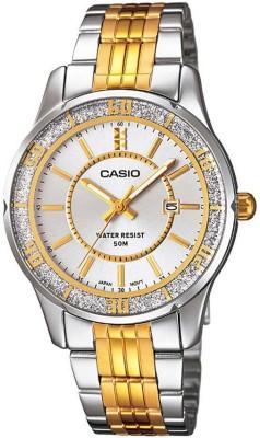 CASIO A898 Enticer Lady's   LTP 1358SG 7AVDF   Analog Watch   For Women CASIO Wrist Watches