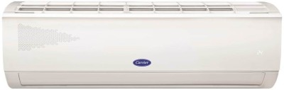 Carrier 1 Ton 3 Star Split AC with PM 2.5 Filter  - White(12k 3star ester neo splt AC, Copper Condenser)