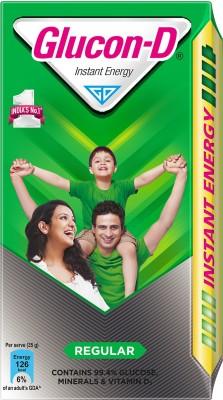 Glucon-D Instant Energy Energy Drink  (1 kg, Regular Flavored)