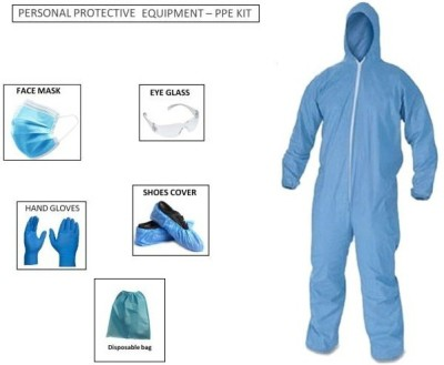 Ameya Traders PPE KIT with full body cover, Head cover,...