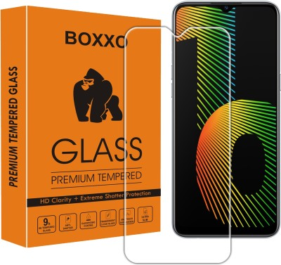 Boxxo Tempered Glass Guard for Realme Narzo 10(Pack of 1)