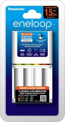 Panasonic BQ-CC55N  Camera Battery Charger(White)