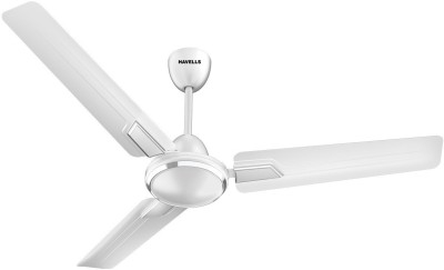 Havells Andria 1200 mm 3 Blade Ceiling Fan(Pearl White, Pack of 1)