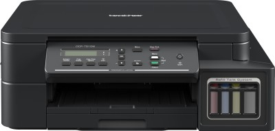 Brother DCP T510W IND Multi function WiFi Color Printer Black, Ink Bottle Brother Multi Function Printers