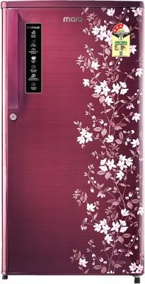 MarQ by Flipkart 195 L Direct Cool Single Door 3 Star (2020) Refrigerator(Wine Coral, 195BD3MQR)