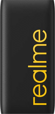 realme 10000 mAh Power Bank (Quick Charge 3.0, 18 W)(Black, Lithium Polymer)