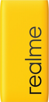 realme 10000 mAh Power Bank (Quick Charge 3.0, 18 W)(Yellow, Lithium Polymer)