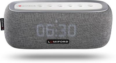 lumiford 3 in 1 Digi Clock 10 W Bluetooth Home Theatre(Dark Grey, Stereo Channel)
