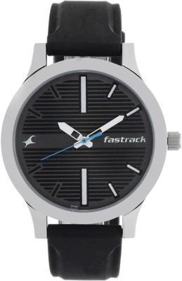 Fastrack NM38051SP01 Fundamentals Analog Watch   For Men Fastrack Wrist Watches