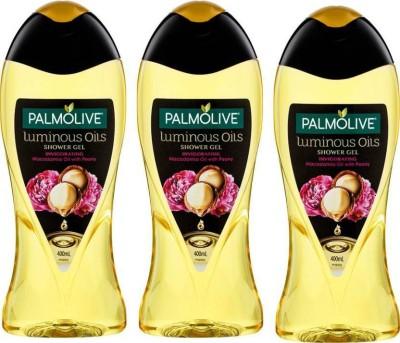 Palmolive Luminous Oils Invigorating Shower Gel (Saver Combo) (3 x 83.33 ml)