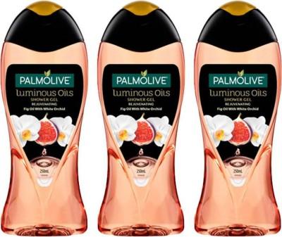 Palmolive Luminous Oils Rejuvenating Shower Gel (Saver Combo) (3 x 83.33 ml)