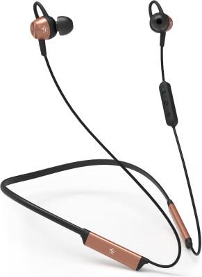 Flipkart SmartBuy Flex Bluetooth Headset(Black, Brown, In the Ear)