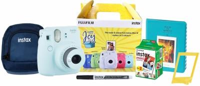 Fujifilm Instax Mini 9�Joy Box Instant Camera(Blue)