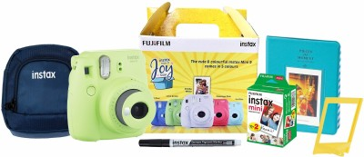Fujifilm Instax Mini 9�Joy Box Instant Camera(Green)