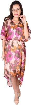 The Kaftan Company Printed CHIFFON Women