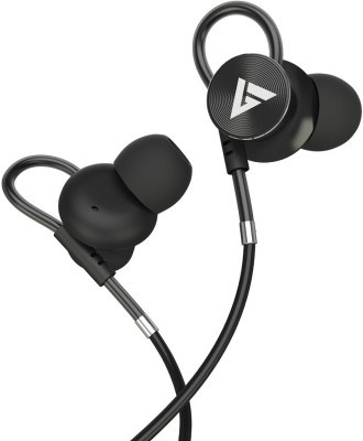 Boult Audio BassBuds Loop Wired Headset(Black, Wired in the ear)