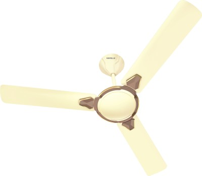 Havells Equs 1200 mm 3 Blade Ceiling Fan  (Ivory Bronze, Pack of 1)
