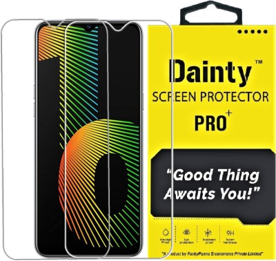 Dainty Tempered Glass Guard for Realme Narzo 30a, Realme Narzo 20, Realme Narzo 20A, Realme C11, Realme C12, Realme C15, Realme C3, Realme 5, Realme 5i, Realme 5s, Oppo A9 2020, Oppo A5 2020, Realme Narzo 10, Realme Narzo 10A, Oppo A31(Pack of 2)
