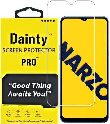 Dainty Tempered Glass Guard for Realme Narzo 30a, Realme Narzo 20, Realme Narzo 20A, Realme C11, Realme C12, Realme C15, Realme C3, Realme 5, Realme 5i, Realme 5s, Oppo A9 2020, Oppo A5 2020, Realme Narzo 10, Realme Narzo 10A, Oppo A31(Pack of 1)
