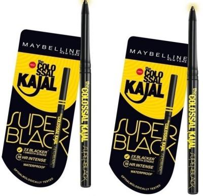 Maybelline The Colossal Kajal Super Black(BLACK)