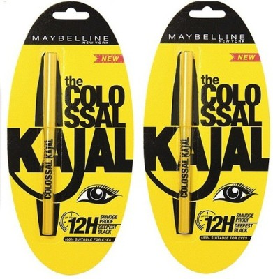 Maybelline Colossal black kajal(black)
