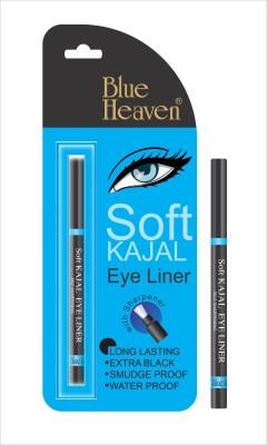 Blue Heaven Soft Kajal Eyeliner Black, 0.31 g Blue Heaven Kajal