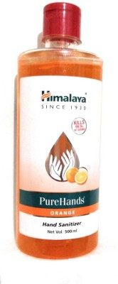 HIMALAYA Orange 500 ML Hand Sanitizer Bottle(500 ml)