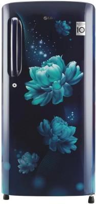 LG 190 L Direct Cool Single Door 4 Star (2020) Refrigerator(Blue Charm, GL-B201ABCY)