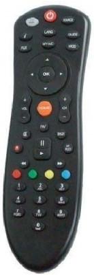 MOBIE ATTIRE dish+ DISH_PLUS Remote Control Compatible for Dish TV SD/HD Set Top Box Remote with Recording Feature Remote Controller(Black)