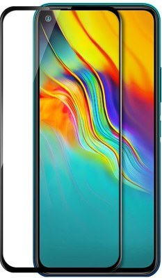 MOBIWIN Edge To Edge Tempered Glass for Infinix Hot 9, Infinix Hot 9 Pro(Pack of 1)