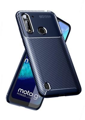 Golden Sand Back Cover for Motorola G8 Power Lite, Moto G8 Power Lite(Blue, Shock Proof)