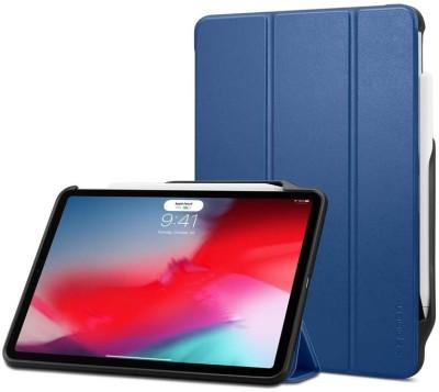 Spigen Flip Cover for Apple iPad Pro 12.9 inch(Blue, Shock Proof)