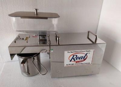 Real oil machine 400 W Food Processor(Silver)