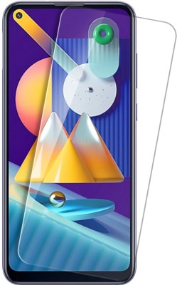 Knotyy Tempered Glass Guard for Samsung Galaxy M11, Realme 7, Realme 6, Realme 6i, Realme 7i, Vivo Z1 Pro, Oppo A52, Moto One Fusion Plus, Oppo A92(Pack of 1)