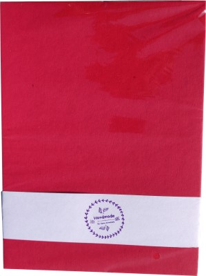 Goonj creations Super series UNRULED A4 Coloured Paper Set of 1, Red Goonj creations Art   Craft