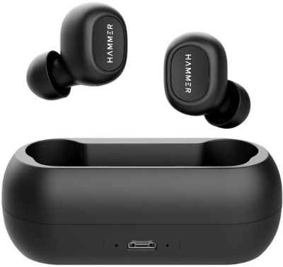 Hammer Solo Bluetooth Headset(Black, In the Ear)