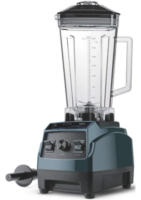 Inalsa Power Blender Merak 2000W Pure Copper Motor with Speed Regulator American Style Blender 2000 Mixer Grinder(Green, Black, 1 Jar)