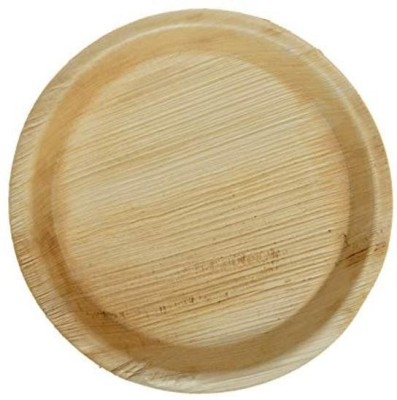 ecocart Eco Cart 10 Inch Round Areca Leaf Plates Dinner Plate 10 Dinner Plate