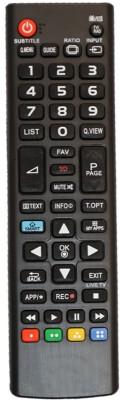 Upix URC122 LCD/LED TV Remote Compatible for LG LCD/LED/3D Plasma TV Remote Controller(Black)