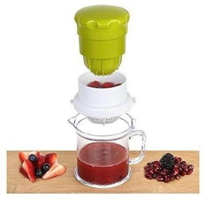 Majron Plastic Hand Juicer Hand Juicer Manual Orange, Citrus, Lemon squeezer (Multicolor)(Multicolor Pack of 1)