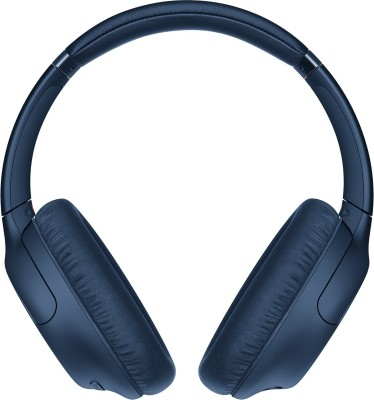Sony WH-CH710N Active noise cancellation enabled Bluetooth Headset(Blue, On the Ear)