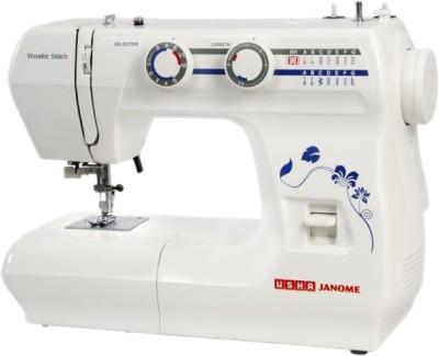 Usha Janome Wonder Stitch with sewing kit Electric Sewing Machine( Built-in Stitches 21)