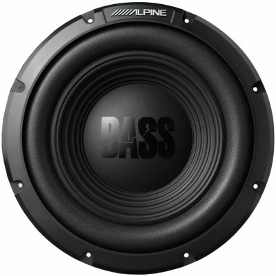 Alpine AZB06XGNBZ17 W10S4 10 750 Watt Peak 250 Watt RMS 4-Ohm Car Audio Subwoofer Sub Subwoofer(Powered , RMS Power: 250...
